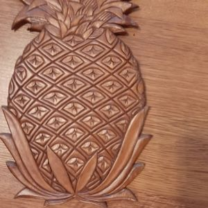Wall art pineapple